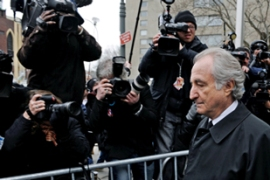 Madoff pleaded guilty in March to securities fraud, perjury and theft [EPA]