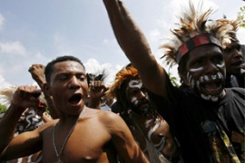 Papua residents have long criticised the presence of the Freeport mine in the province [File: EPA]