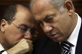 Netanyahu , right, has dismissed the Goldstone report as unbalanced [Reuters]