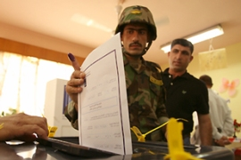 More than 2.5 million Kurds are eligible to vote in Saturday's elections [AFP]
