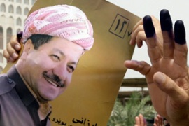 Barzani's party, the KDP, is part of the northern region's ruling alliance [Reuters]