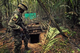 Colombian forces are engaged in a battle against armed groups with ties to the drugs trade [AFP]