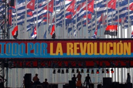 Revolution Day marks the day of a rebel attack on the Cuban military in 1953 [REUTERS]