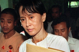 Aung San Suu Kyi will not be able to participate in next year's election because of the verdict [AFP]