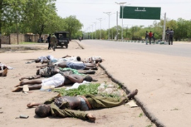 Hundreds of people were killed in clashes between security forces and Boko Haram [AFP]