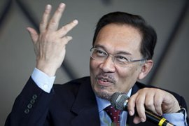 Anwar has said the charges are part of a government plot against him and the opposition [EPA]