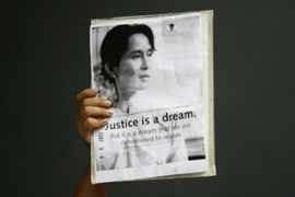Aung San Suu Kyi said the court verdict against her was 'totally unfair' [Reuters]