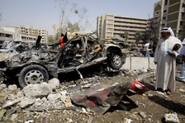 The Bloody Wednesday attacks killed 95 people and wounded 600 more in the Iraqi capital [AFP]