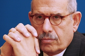 ElBaradei said 'Iran was supposed to inform us on the day it was decided to construct the facility' [AFP]