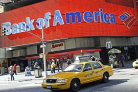 Bank of America has received $45m of taxpayers' money during the credit crisis [AFP]