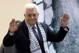 Abbas opened the Fatah conference by reiterating  Palestinians' right to 'legitimate resistance' [EPA]