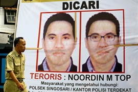 Noordin, a Malaysian, is wanted in connection with several bomb attacks in Indonesia [AFP]