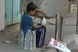 Video: Water crisis sickens Gazans