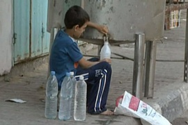 "Amnesty said the water situation in the Gaza Strip has reached a ""crisis point"""