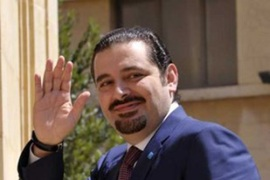 Al-Hariri's second attempt at government faces the same issues that failed the first [EPA]