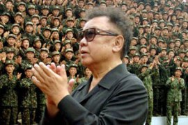 Kim Jong-il gave China a denuclearisation pledge following meetings last year [AFP]
