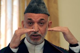 Karzai is due to give his response to the commission's election fraud report on Tuesday [AFP]
