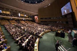 Obama urged leaders to act at the Summit on Climate Change at the United Nations in New York [AFP]