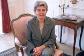Irina Bokova is a career diplomat and politician who helped Bulgaria join the EU and Nato