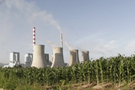 China, the world's biggest carbon emitter, has said it will cut 'carbon intensity' by 45 per cent by 2020 [EPA]