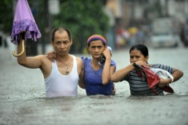 "The government has declared Manila and 25 other provinces to be in a ""state of calamity"" [AFP]"
