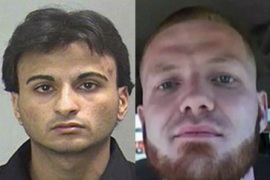 Two detained in US over bomb plots