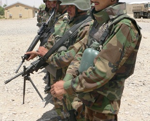 Rasmussen said the training of Afghan forces should be expanded [EPA]