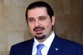 Saad Hariri stepped down as prime minister-designate on Thursday [EPA]