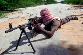 Al-Shabab aims to topple the government and impose their own version of Sharia law in Somalia [EPA]