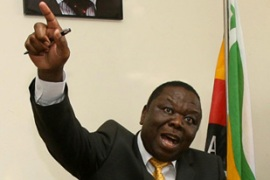 "Tsvangirai accused Mugabe of being a ""dishonest and unreliable partner"" [AFP]"