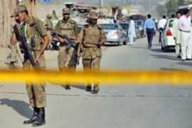 On October 22, gunmen killed a brigadier and his driver in a daylight raid in Islamabad [AFP]