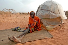 Africa is home to almost half the world's totalnumber of  internally displaced people [EPA]