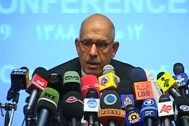 ElBaradei set Friday as the deadline for the four powers to accept or reject the proposal [EPA]