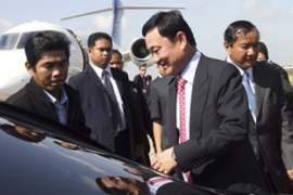 Thaksin has been appointed as an economic adviser to the Cambodian government [Reuters]