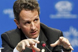 The NY Fed was headed at the time of the rescue by US treasury secretary Timothy Geithner [Reuters]
