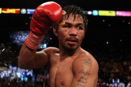 Pacquiao steps into political ring