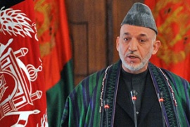 Karzai was named president following Afghanistan's fraud-tainted elections [AFP]
