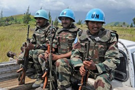 UN reduces support to DR Congo army