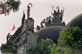The Babri mosque's destruction triggered someof India's worst religious riots [File, AFP]