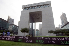 Stocks fell as soon as markets opened in Dubai on Monday [AFP]