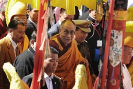 The Dalai Lama said it was his entry into India in 1959 that spurred China to speak out against him [AFP]