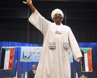 Al-Bashir is wanted by the ICC for trial on charges of war crimes and crimes against humanity [Reuters]