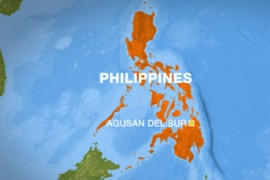The hostages were seized early on Thursday during a raid on a village in Agusan Del Sur province