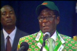 Mugabe's critics say he is responsible for theeconomic crisis in Zimbabwe over the last decade