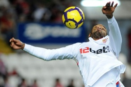 Sevilla win in Gijon
