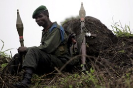 Congolese soldiers backed by the UN have been accused of carrying out war crimes [EPA]