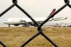 The Delta Airbus 330 landed safely in the US city of Detroit after the incident [Reuters]
