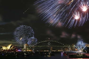Australia's glamorous east coast city of Sydney was one of the first places to celebrate 2010 [AFP]