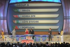 Brazil drawn in toughest group