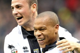 Biabiany continues Parma dream